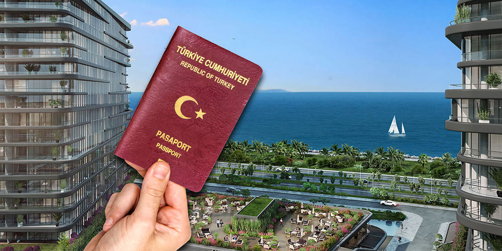 پاسپورت ترکیه با 150 هزار دلار